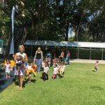 sunny day to be outside at Bright Skies kindergarten in Bangkok
