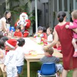 party time with Santa in the bangkok heat
