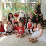 christmas time in nursery school bangkok