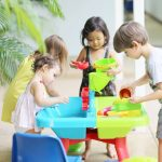 school favorites of water and sand play for toddlers