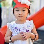 christmas hats made at kindergarten Sukhumvit