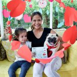 Love pug on Valentines day