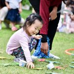 Outdoor games at pre-school on Valentines day Bangkok