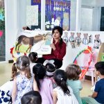 Story time at school in Bangkok