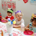 Valentines day celebrated as love day at Bright Skies School