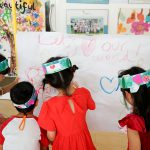 Let's love your world - pre school activities on Valentines Day